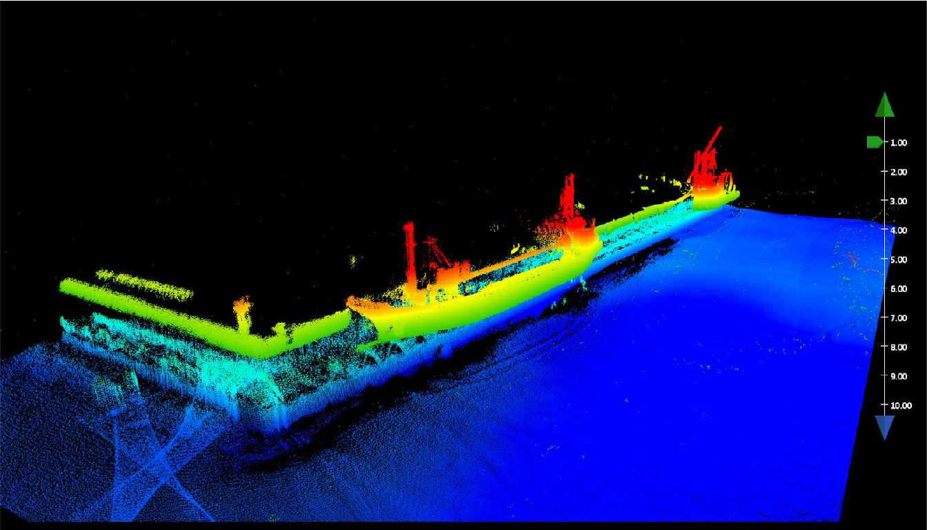 SW7 allows inverted bathymetry gridding!